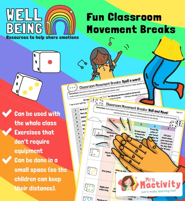 Classroom Movement Break Activities