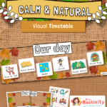 Calm and Natural Visual Timetable