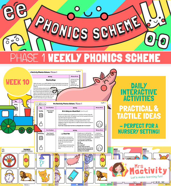 Phonics Scheme - Phase 1 Week 10