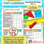 Post Lockdown Assess the Gaps Maths End of Year 4