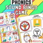 Phonics Phase 1 Voice Sounds Bingo Game