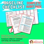 Early Years Baseline Checklist Resource Pack