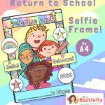 back to school selfie frame