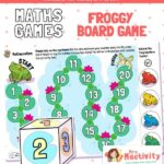 EYFS Counting Beyond 10 Froggy Board Game