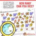 EYFS maths how many can you see game