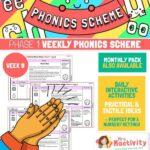 Phonics Scheme - Phase 1 Week 9