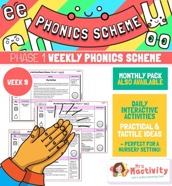 Phonics Scheme - Phase 1 Week 9