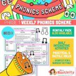Phonics Scheme - Phase 1 Week 8
