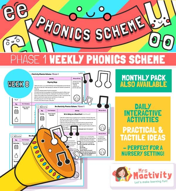 Phonics Scheme - Phase 1 Week 8