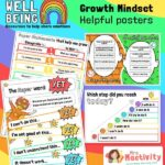 Large Growth Mindset Display Posters