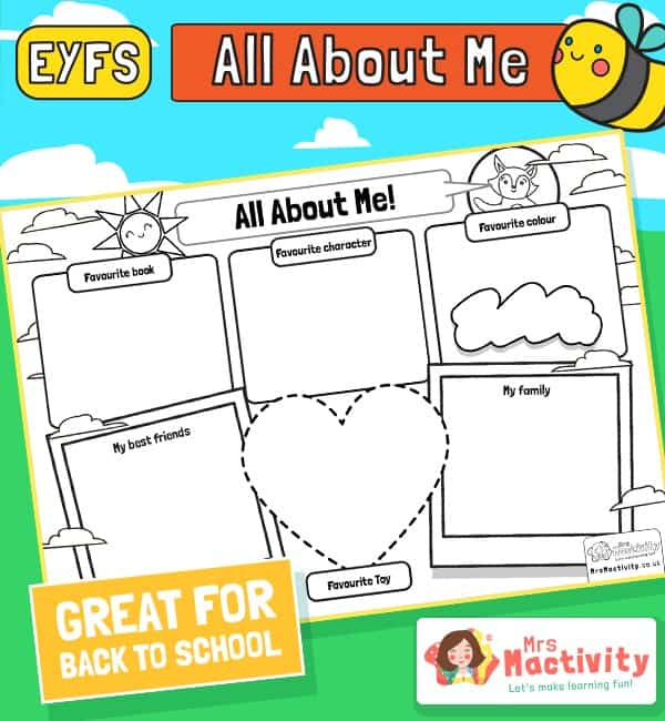 Starting School Activity - EYFS
