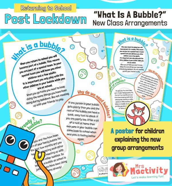 What is a Class Bubble Poster