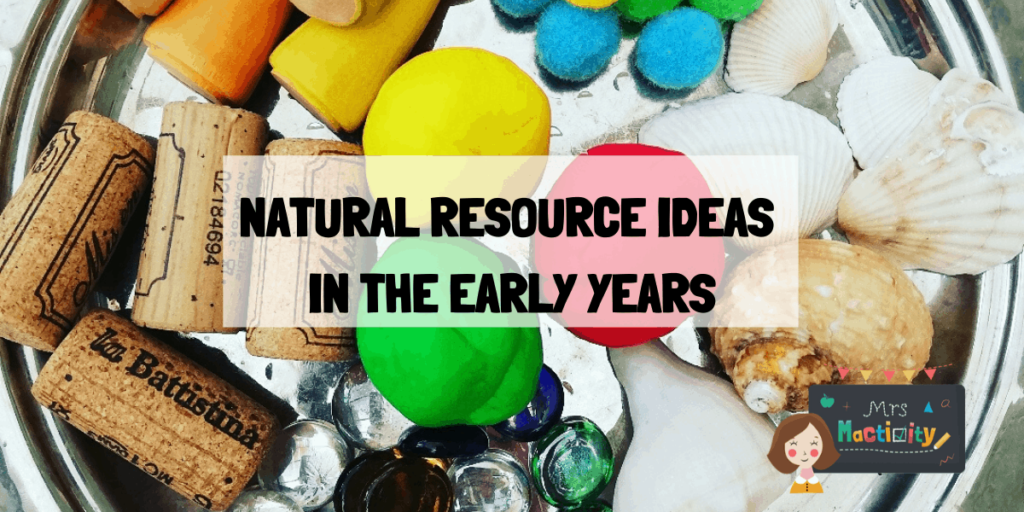 NATURAL RESOURCE IDEAS IN THE EARLY YEARS