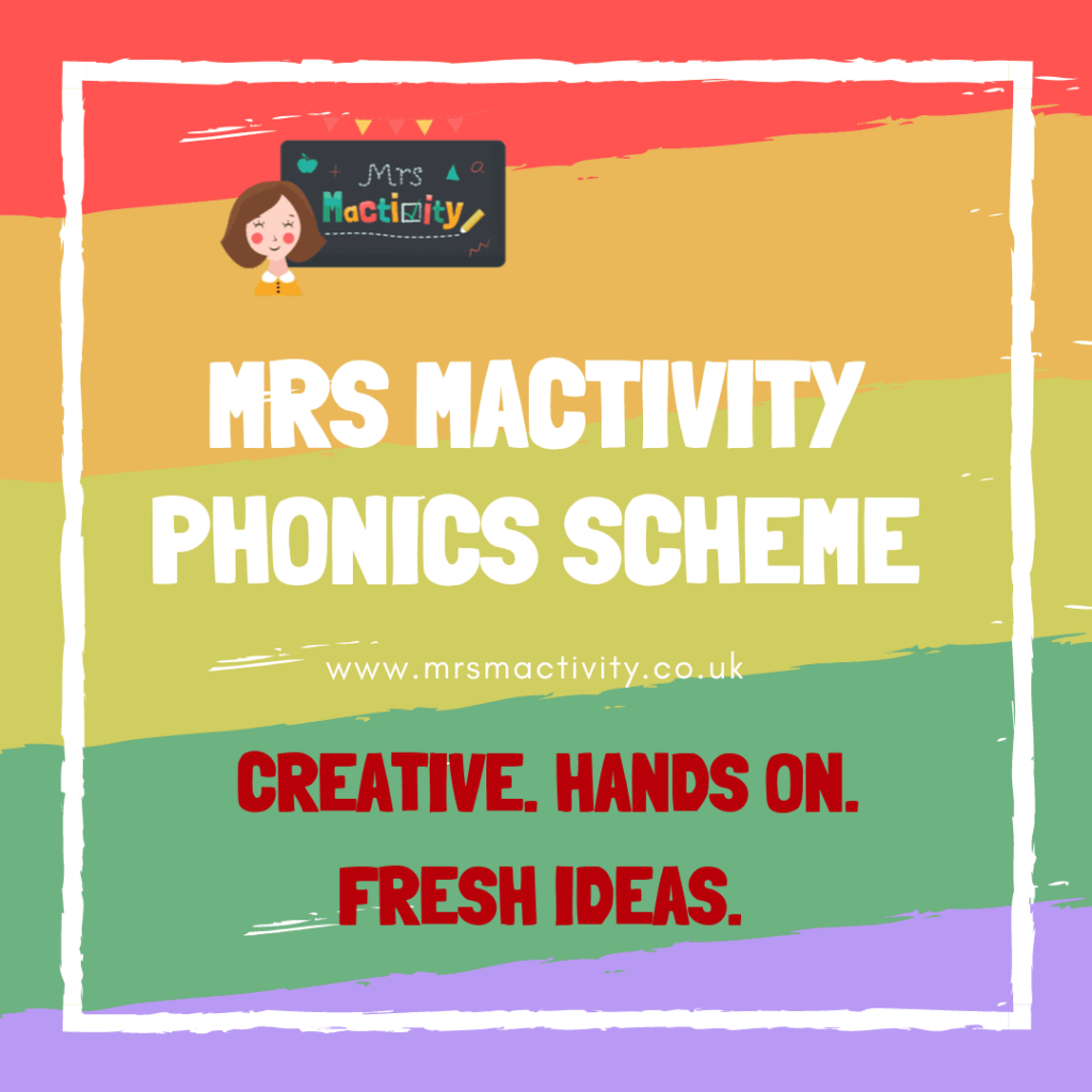 Mrs Mactivity phonics scheme