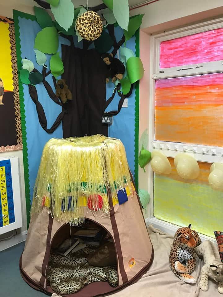 Reading area display ideas