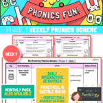 Phonics Scheme - Phase 1 Week 1
