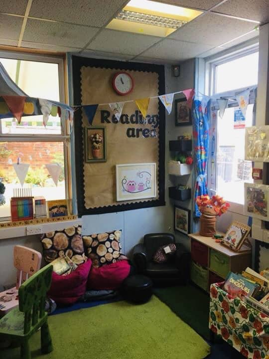 classroom book corner ideas