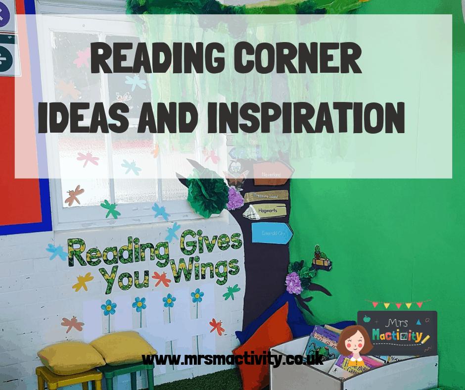 Book corner ideas for primary