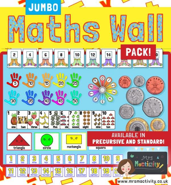 Maths Wall Display Pack