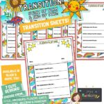 Transition worksheets