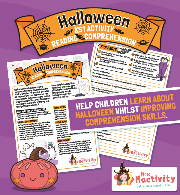 KS1 Halloween Reading Comprehension