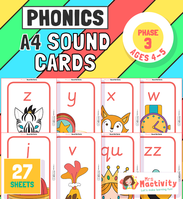 Phase 3 A4 sound cards