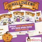 Halloween Writing Prompts Activity