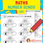 Number Bonds to 20 Rainbow Worksheet