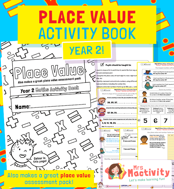 Year 2 Place Value Activity Pack