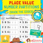 KS1 Number Partitioning Worksheet