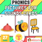 Phase 3 Words Picture Cards