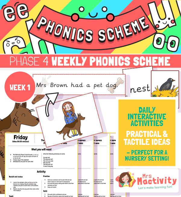 Phonics Scheme Phase 4 Week 1
