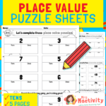Partitioning Place Value Worksheets - Tens