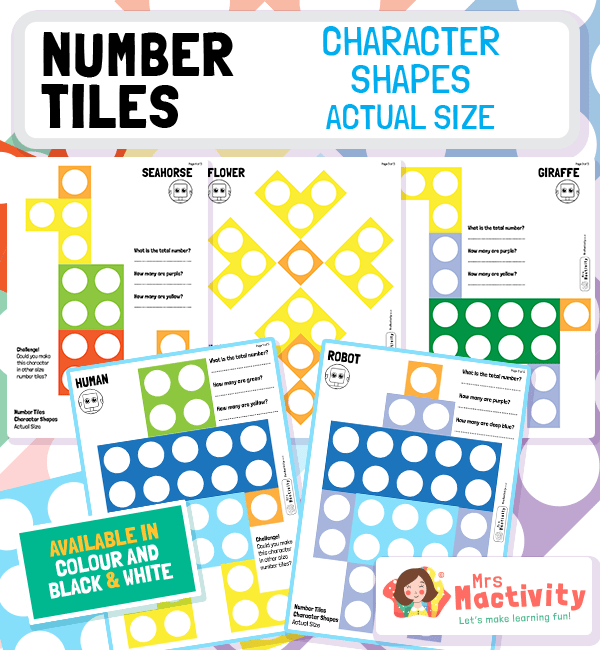 Number Tile Complete the Object Activity