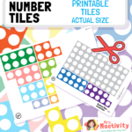 Number Tile Cut-Outs