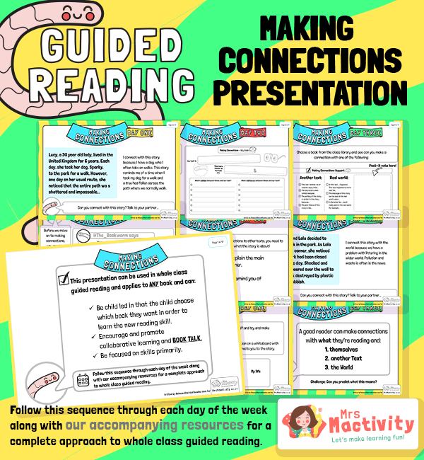 Whole Class Guided Reading Making Connections Class Presentation