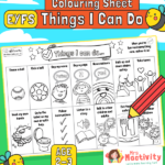 Age 2-3 Things I Can Do Activity