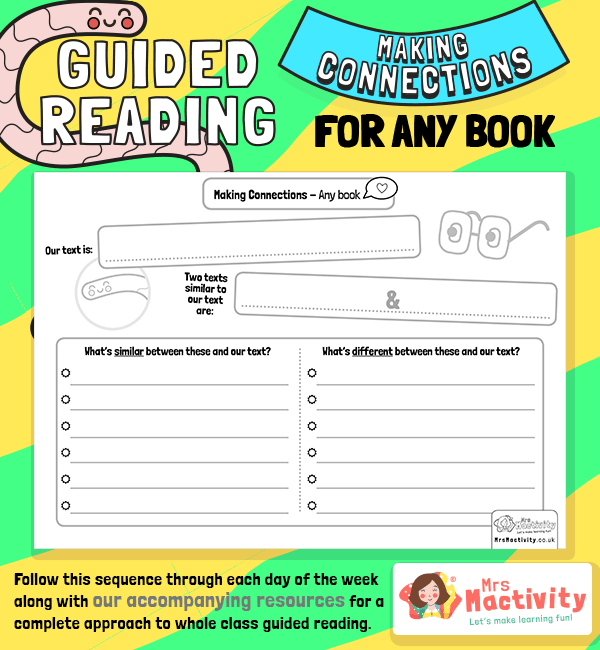 Whole Class Guided Reading Making Connections