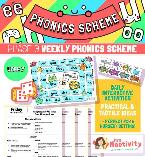 Phonics Scheme Phase 3 Week 7