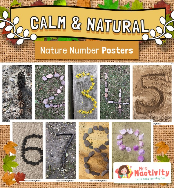 Natural Style Display Numbers