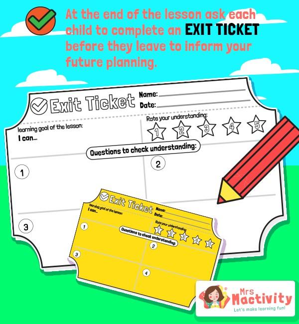 Classroom Exit Ticket