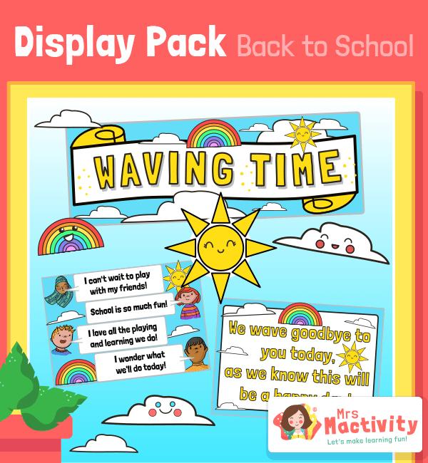 Waving Time Display Pack