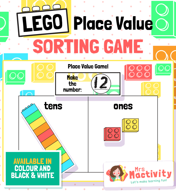 Lego Place Value Game