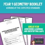 Year 1 Geometry Assessment Booklet - Expected Standard