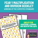 Year 1 Multiplication and Division Assessment Booklet - Expected