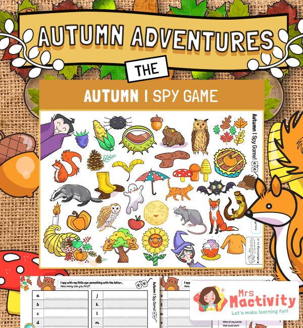 Autumn I Spy Hunt Activity