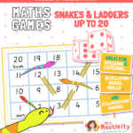 Snakes and Ladders to 20 Game