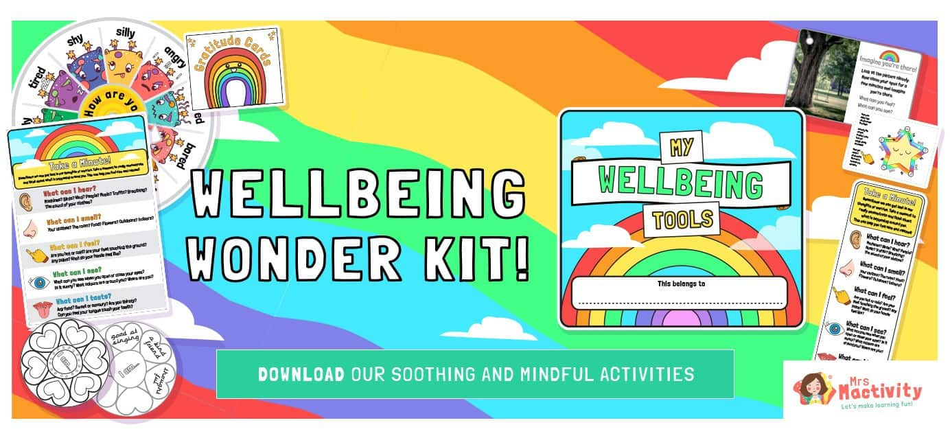 wellbeing primary resources