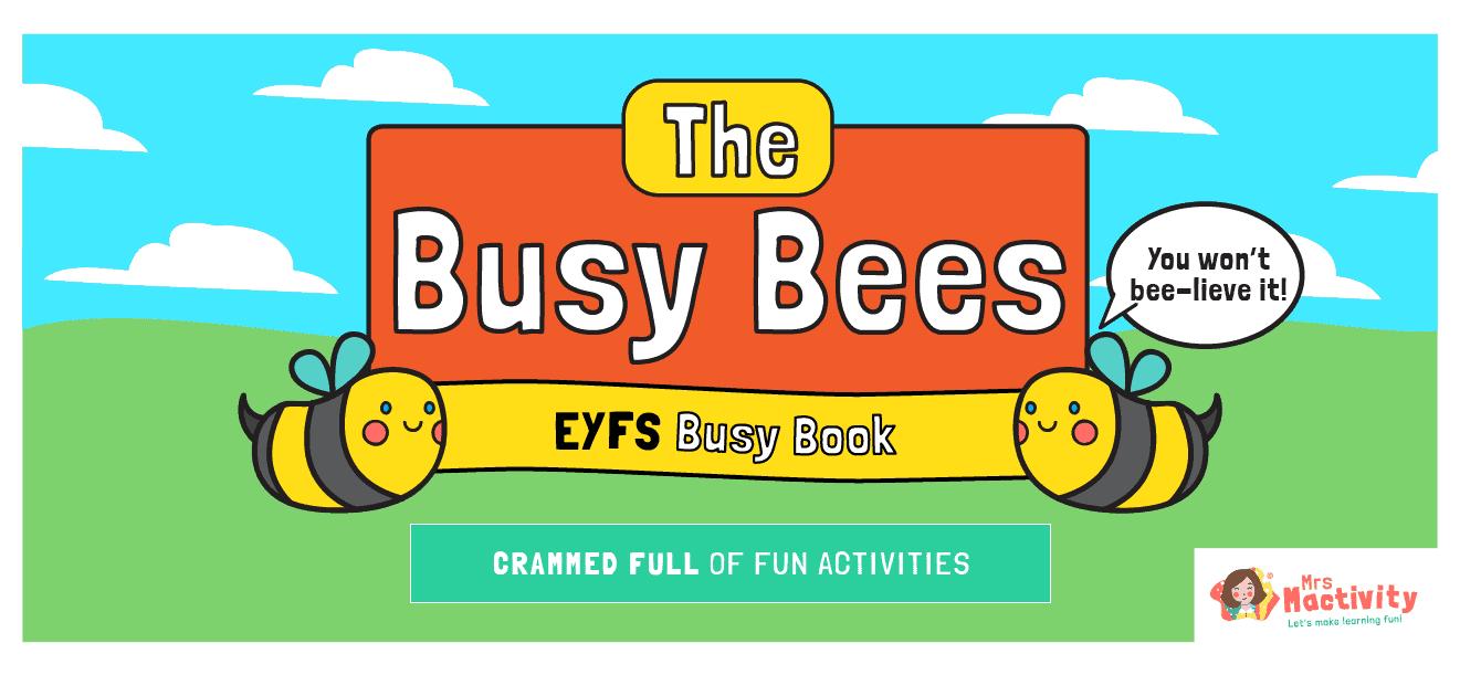 Website Banner Busy Bee Book