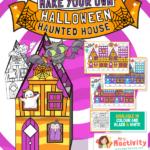 Halloween Haunted House Craft Activity